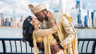 The Arije's Wedding (Interracial Wedding - African and Indian)