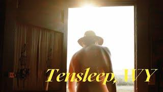 Staying in Original Cabin in Tensleep