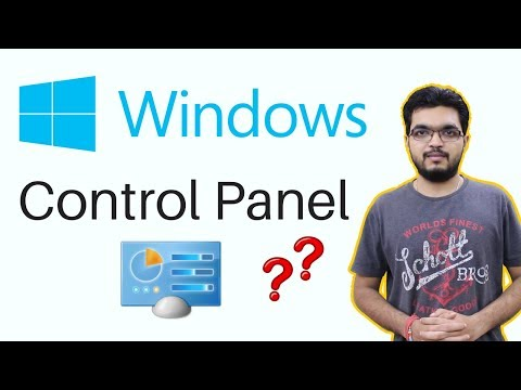 Windows Control Panel ? Full Details of Every Settings and Options | in Hindi