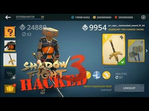 SHADOW FIGHT 3 HACK 2018   FIXED  