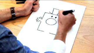 How to Draw the Mr Men characters - MR GRUMPY