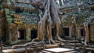 #780 Камбоджа Сием Рип Храм Та-Пром Разрушающая сила джунглей(Храм Та-Пром – один из самых монументальных на территории индуистского комплекса Ангкор в Камбодже. Он..., 2016-03-09T07:32:54.000Z)