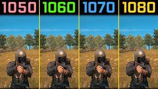 PUBG GTX 1050 Ti vs. GTX 1060 vs. GTX 1070 vs. GTX 1080 [1440p]