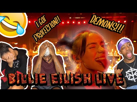 Billie Eilish - All The Good Girls Go To Hell (Live From The American Music Awards/2019) {REACTION)