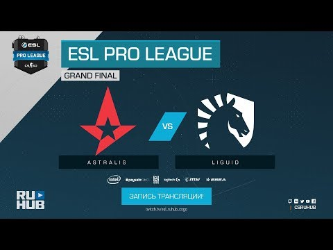 Liquid vs Astralis - ESL Pro League S7 Finals - Map 2