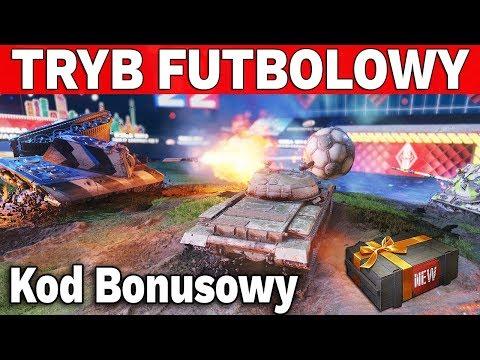 NAJLEPSZY TRYB FUTBOLOWY i Kody Bonusowe - World of Tanks thumbnail