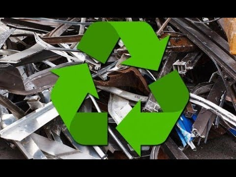 Scrap Metal Recycling at Cash For Trash