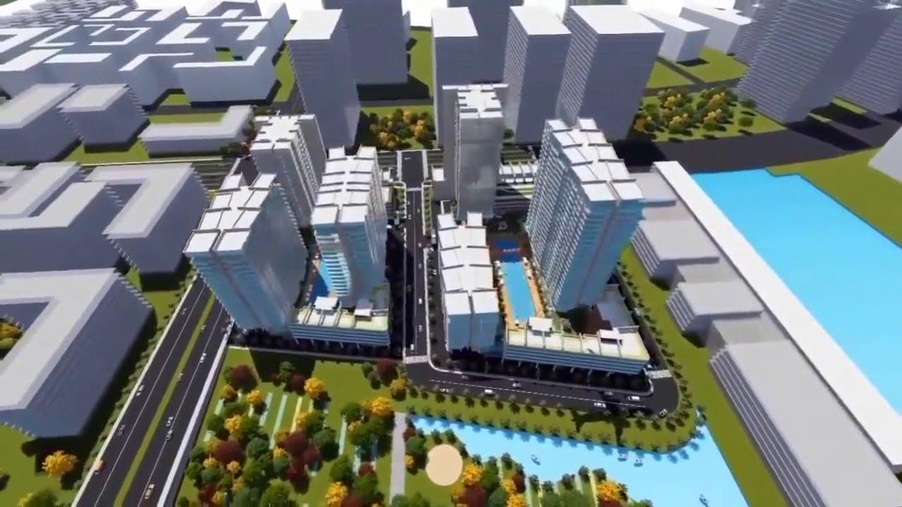 Phối cảnh dự án căn hộ The Riverin Thủ Thiêm Quận 2