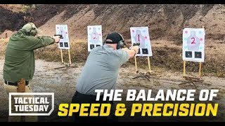 Tactical Tuesday: How To Shoot With Speed & Precision