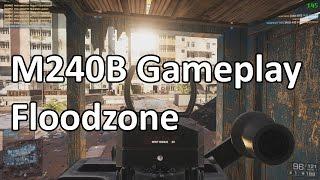 Floodzone TDM | M240B Gameplay (59 Kills) | Battlefield 4