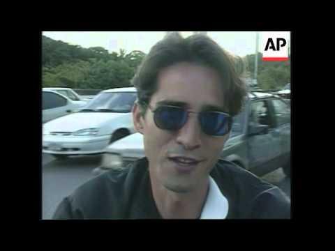 VENEZUELA: CARACAS: TRAFFIC CHAOS & CONGESTION