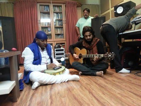 Shivamani and Chintoo Singh Wasir at Dipak Thakkar's music Room, Surat.