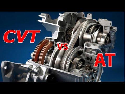 CVT VS AT |  So Sánh Hộp Số Tự Động Có Cấp (AT) Và Tự Động Vô Cấp (CVT)| Phân Tích Ưu Nhược Điểm.