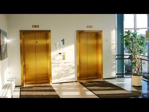 FULL TOUR of the 1989 Geijer-Hissi / KONE M-series elevators @ Yrittäjätalo, Helsinki, Finland