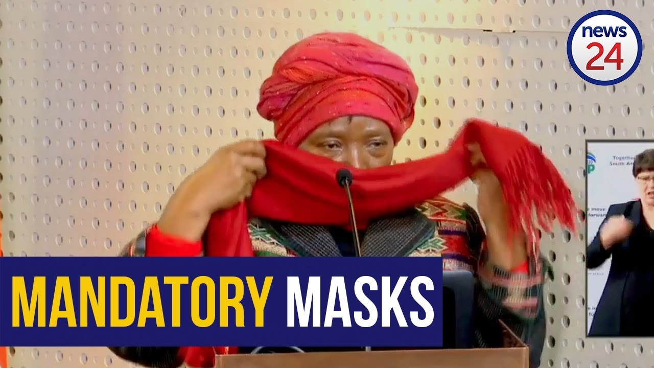 WATCH | National curfew and mandatory cloth face masks to come ...