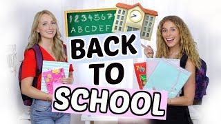 BACK TO SCHOOL Supplies Haul 2018! + VERLOSUNG mit Kathi! ♡ BarbaraSofie