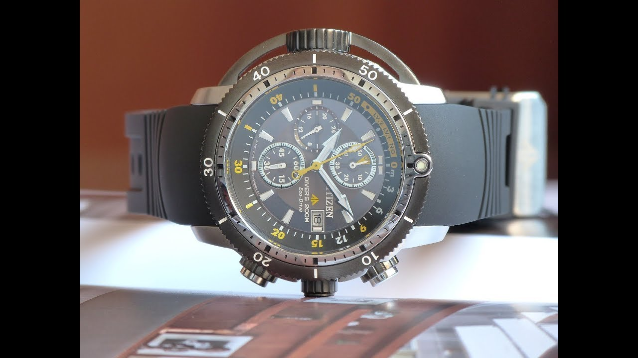 37537dbcd54 Relógio Novo Citizen Aqualand BJ2127-16E TZ30722Y Eco-Drive - YouTube