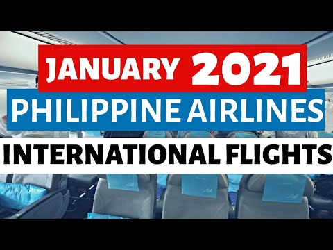 JANUARY 2021 PHILIPPINE AIRLINES FLIGHT SCHEDULES INTERNATIONAL! Check natin prices! (Travel Update)