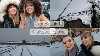 City Break to Kraków, Poland! ♡ Being Tourists, Auschwitz Tour & Lots of Shopping | Jamie Johnston