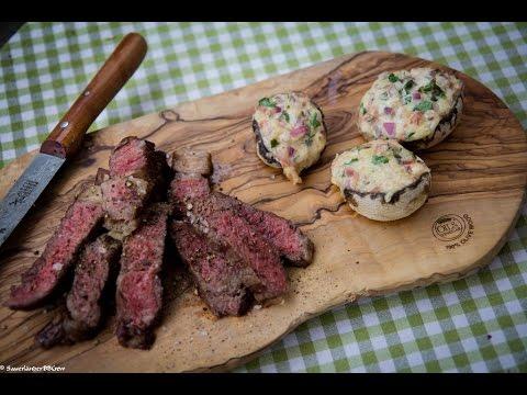 Folge141 Wie Grille Ich Ein Steak Richtig Gegrillte Champignons