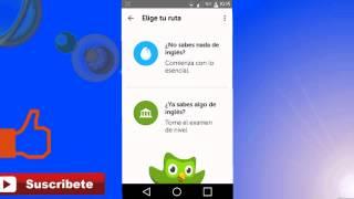 Duolingo  Aprende ingles y otros idiomas totalmente GRATIS!!! screenshot 3
