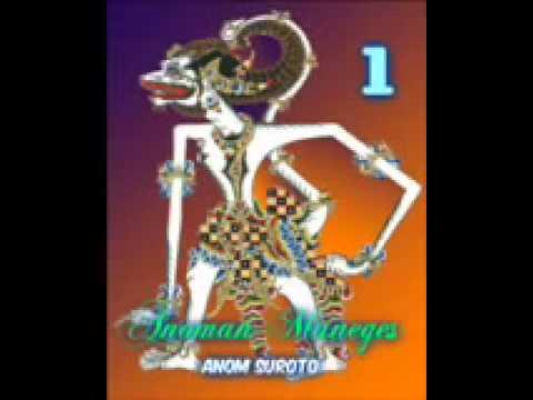 Wayang Kulit Dalang Kondang Anom Suroto Lakon ~ ANOMAN MANEGES Part 18