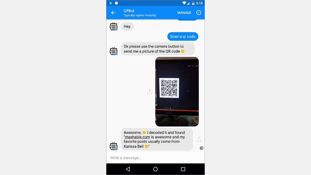 how to scan qr code on my phone