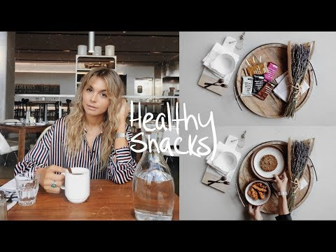 5 QUICK & EASY HEALTHY SNACKS | nutritional weight loss recipes