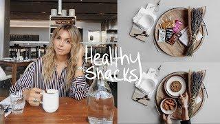 5 EASY HEALTHY SNACKS
