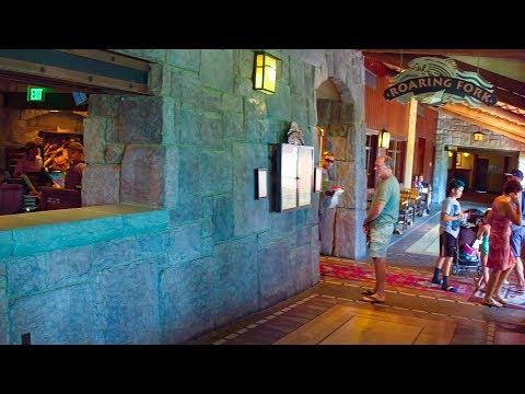 [4K] Roaring Fork at Disney's Wilderness Lodge