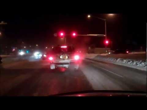 -46F below zero drive(night),fairbanks Alaska.( adults only)