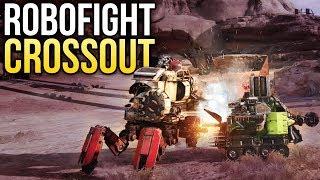 Crossout Robofight: РОБОТ-ЗАЯЦ vs АРМАДИЛ-БРОНЕНОСЕЦ