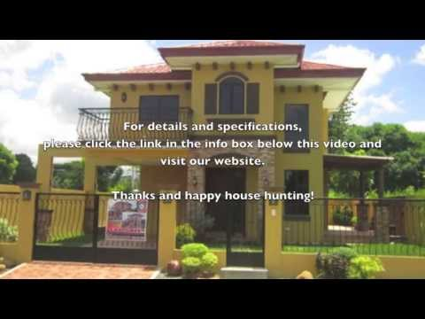 Davao House for Sale - Beautiful Mediterranean 2-Story House in Catalunan Pequeno