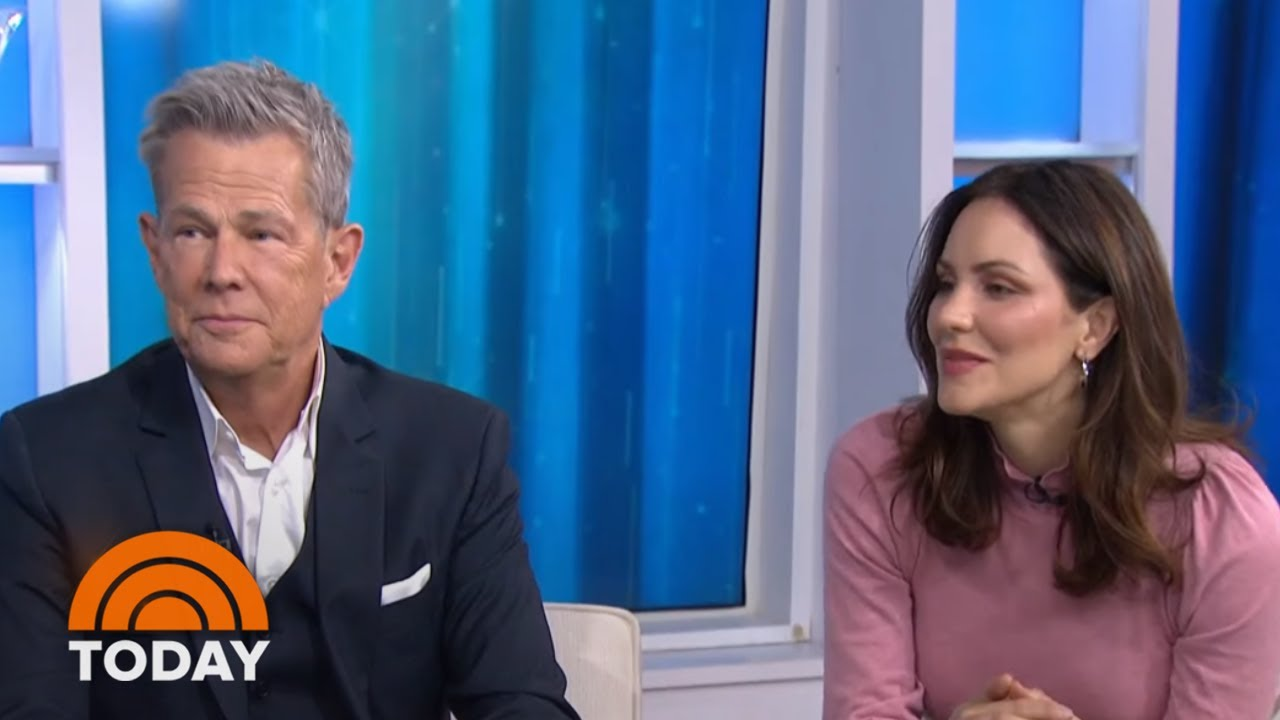 Katharine McPhee 'has helped David Foster to open up'