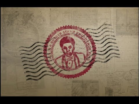 How To Create A Rubber Stamp Effect In Adobe Photoshop Youtube