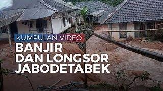 Kumpulan Video Terbaru Kondisi Banjir dan Longsor di Jakarta dan Sekitarnya