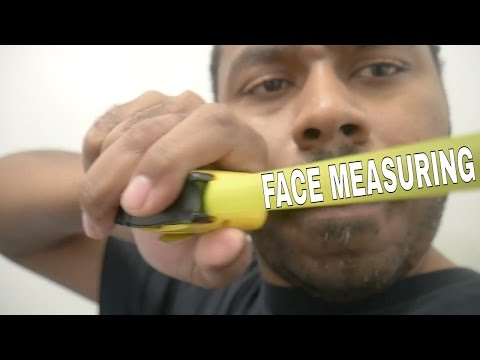 ASMR Face Measuring Role Play Taking Measurements for FACE MASK Tape Measure, Ruler & Marker Sounds