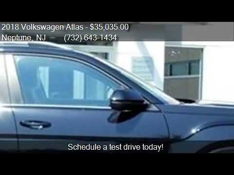 2018 Volkswagen Atlas V6 SE 4Motion AWD 4dr SUV for sale in