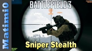 Sniper - Art of Stealth (Battlefield 3 Gameplay/Commentary)