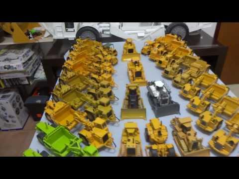 Scrapers And Dozer! Up Grade In Colection! DIECAST CAT 657B, CAT 651B, CAT 666, CAT 637E , CCM