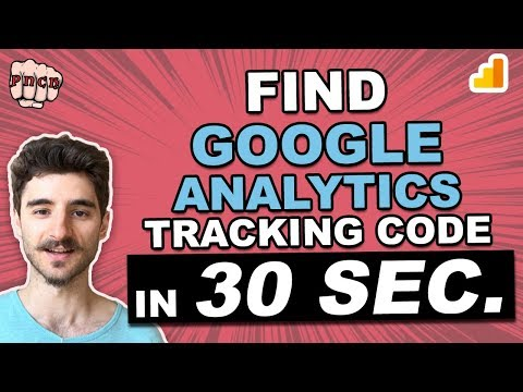 Where To Find Google Analytics Tracking Code & Tracking ID