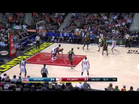 Detroit Pistons vs Atlanta Hawks | October 27, 2015 | NBA 2015-16 Season