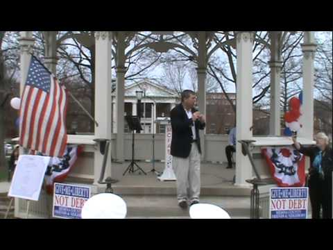 Medina Tea Party 1-2 Rademacher, Fair Tax