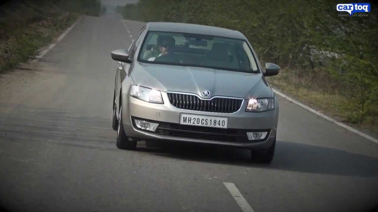 Skoda Octavia Ambition Diesel Video Review By Cartoq Com Youtube