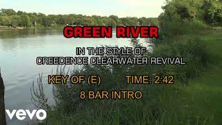 Creedence Clearwater Revival - Green River (Karaoke)