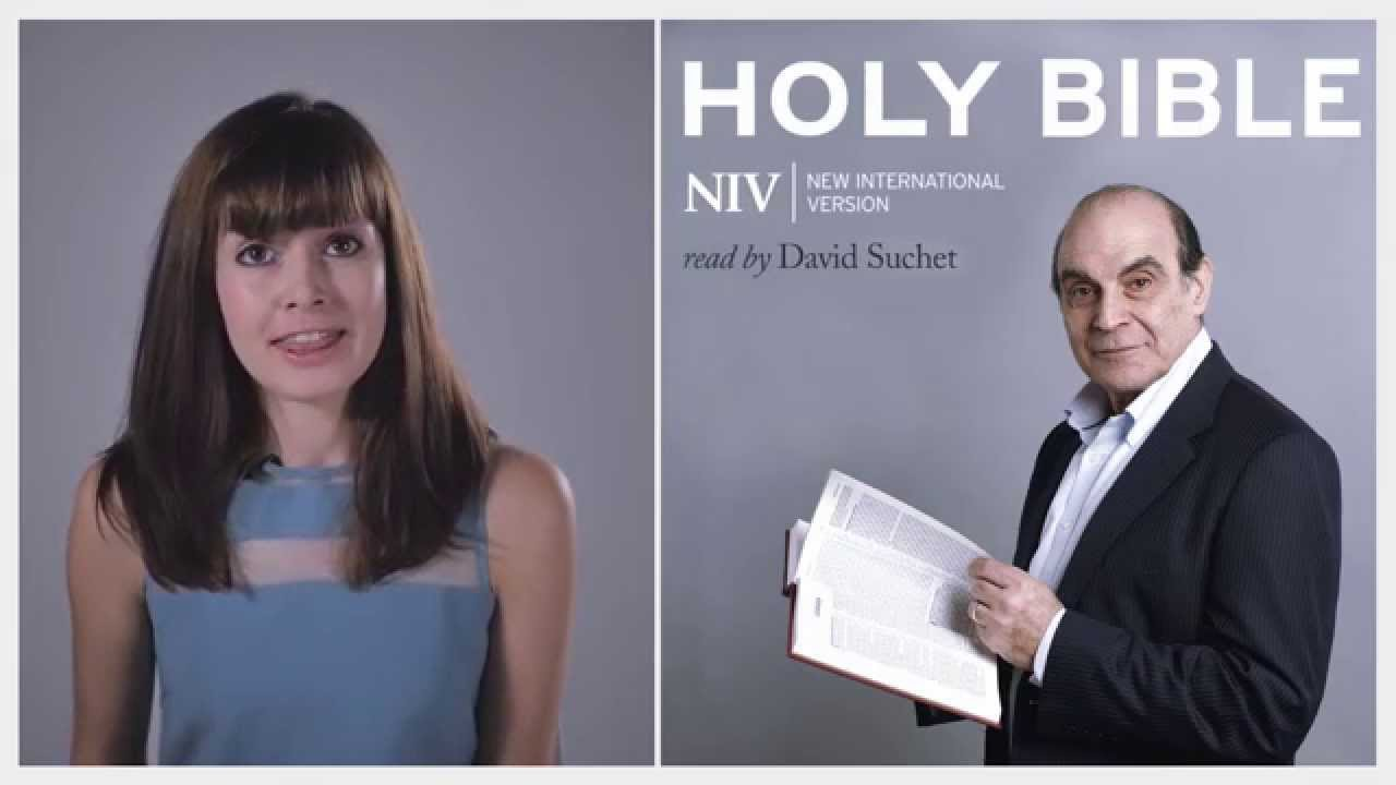NIV Bible App: Read by David Suchet