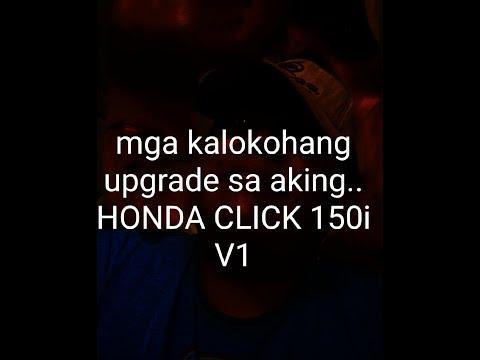 mga kalokohang upgrade sa honda click150i v1
