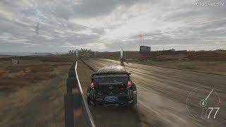 Forza Horizon 4 - 2015 Hoonigan Gymkhana 8 Ford Fiesta ST RX43 Gameplay