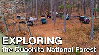 Exploring the Ouachita Natİonal Forest and Finding Epic Campsites
