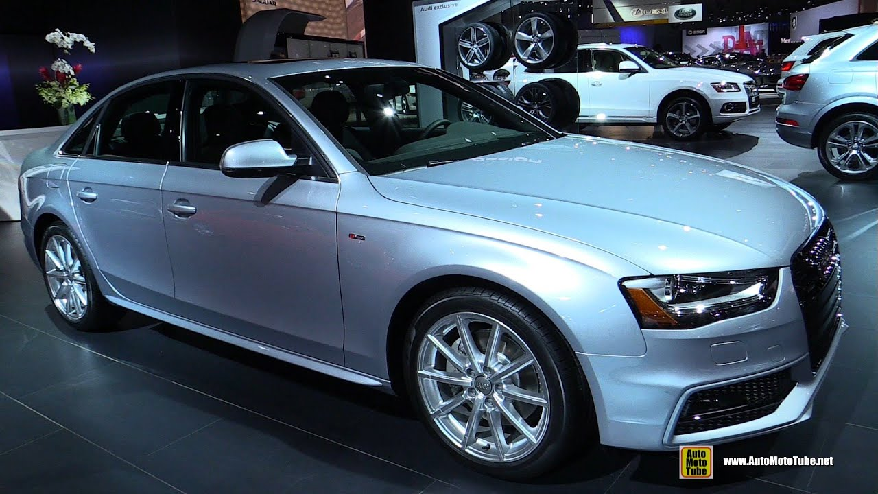 2015 audi a4 2 0t quattro s line exterior and interior. Black Bedroom Furniture Sets. Home Design Ideas